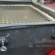 Установленная резинка для герметичности бункера пеллетного котла