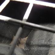 Пеллеты в бункере котла Emtas