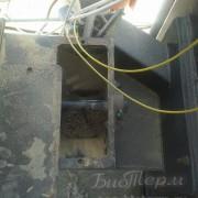 шнек для подачи топлива в котле Emtas
