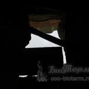окно в котельной с котлом на пеллетах для приточной вентиляции